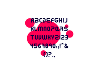 Annulus Rounded Font