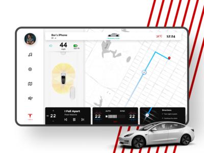 Tesla Driving Dashboard