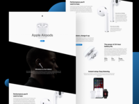 Airpods Landing Page