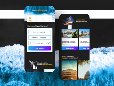 Booking website exploration