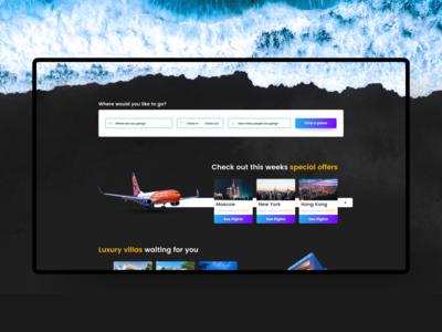 Thattravelthing.com - Travel desktop website