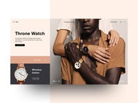 Daily UI Challenge #003 - Throne Watch Landing Page