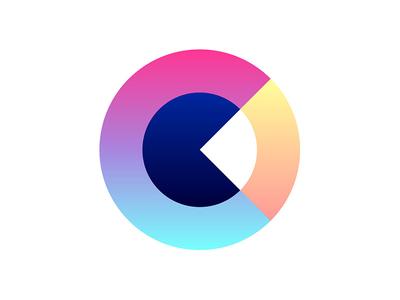 C c illustrator colours logo design