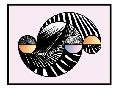 tropical graphic design design illustration