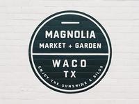 Magnolia Wall Signage