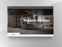 Total Interiors Landing Page Mock-up