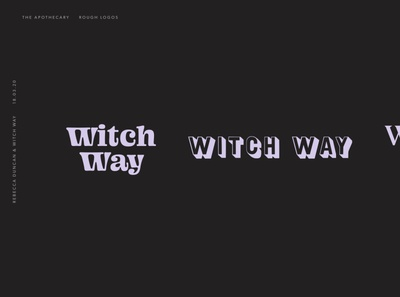 Witch Way: Route #3
