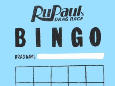 Drag Race Bingo