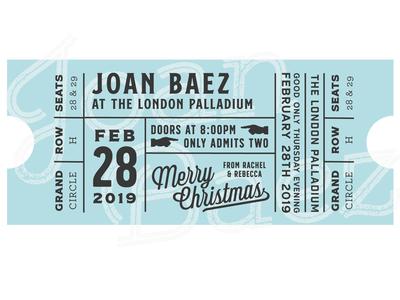 Joan Baez Ticket