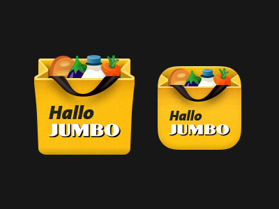 Jumbo App Icons mobile app icons ios android jumbo