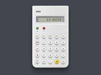 Daily UI - Calculator