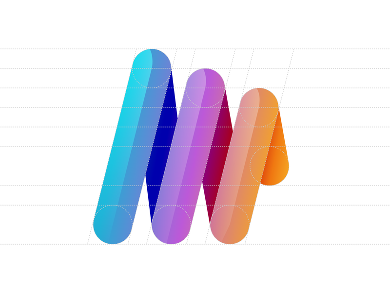 Portal logo branding illustration ui logo