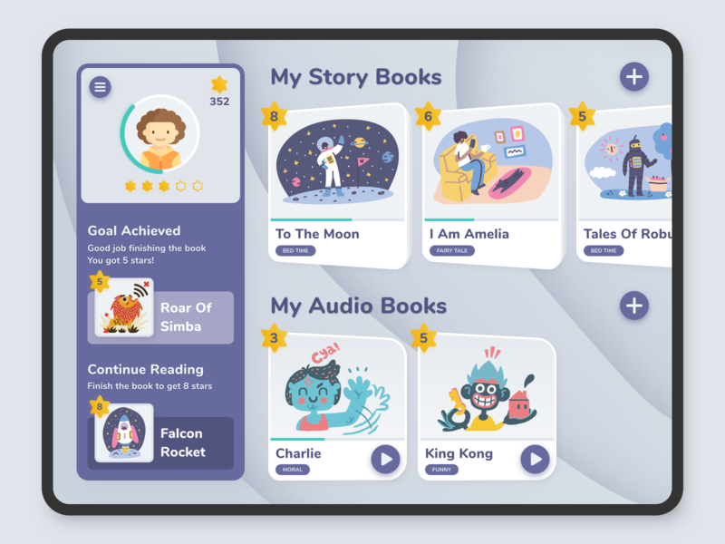 Kids Book Reading iPad App (WIP)