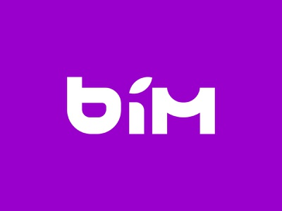 BIM e-COM & CRYPTO ecommerce cryptocurrency crypto identity logo wordmark flat lettering typography lettermark design minimal branding
