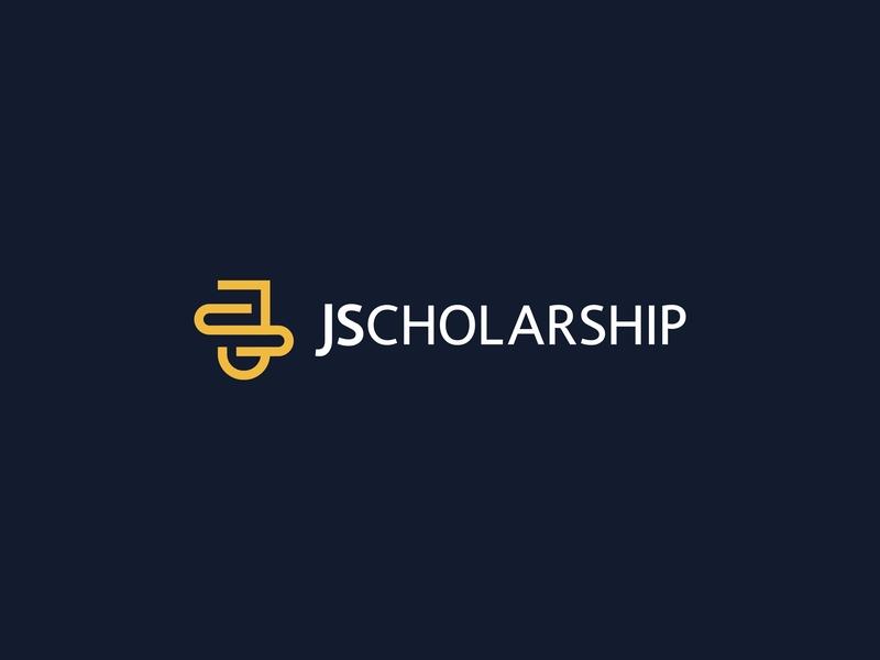 JScholarship school lettermark graphicdesign design ui ux vector flat typography scholarship web lettering icon wordmark logomark identity logo minimal branding