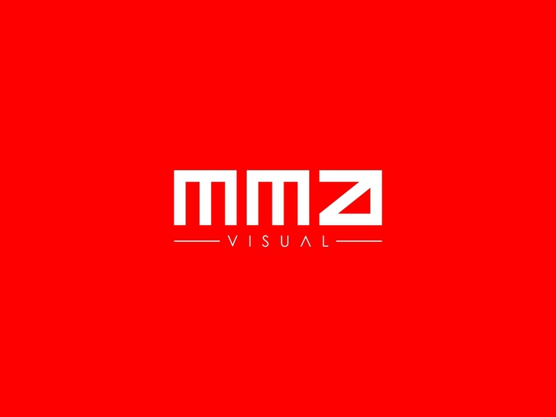 MMA Visuals typefaces wordmark typeface design lettermark flat lettering vector identity visual media photography typography logo minimal branding