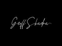 Geoff Skadra Signature Logo