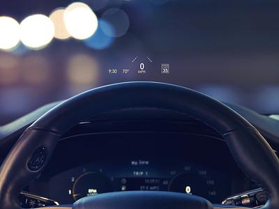 2020 Lincoln Corsair interface car interactive hud heads up display digital dashboard automotive design hmi ui