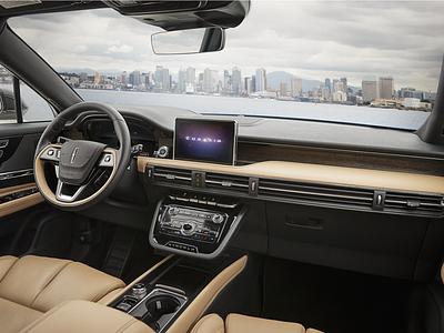 2020 Lincoln Corsair automotive design digital dashboard car hmi interface ui
