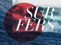 Surfer graphic