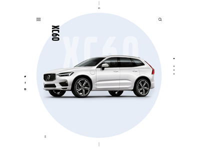 2018 Volvo XC60 interactive cars hmi ui volvo automotive