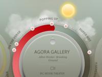 Heatmap interactive widget