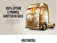Volvo Trucks Global Website