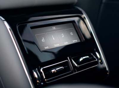 2020 Lincoln / Rear Display automotive interactive design hmi interface ui