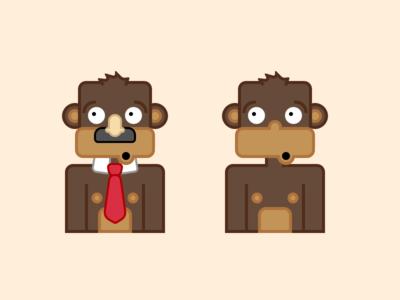 Monkeys game monkey simian brown