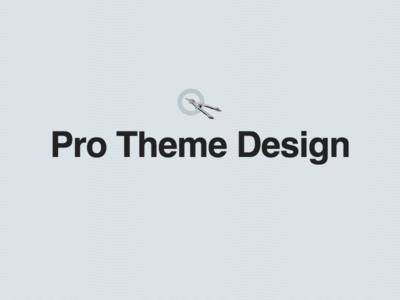 Pro Theme Design Revamp wordpress