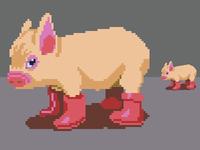 Pixel Dailies Pig