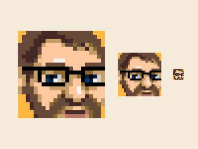 Self Portrait self portrait portrait pixels pixel art