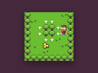 Pixel Adventure Game for #LowRezJam