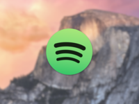 Spotify Icon For Yosemite OS X