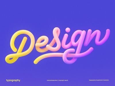 Design | 3D Lettering cinema 4d typography text render photoshop monoline maney imagination love lettering graphic design experiment details design trends design colorful cinema4d 3drender 3dlettering 3d