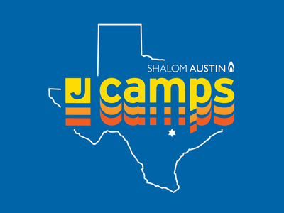 Shalom Austin JCamps illustration summer camp jcc camps texas austin atx