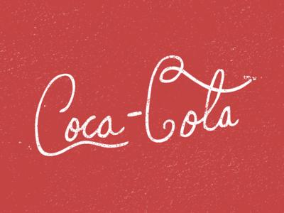 Hand Drawn Coca Cola Logo