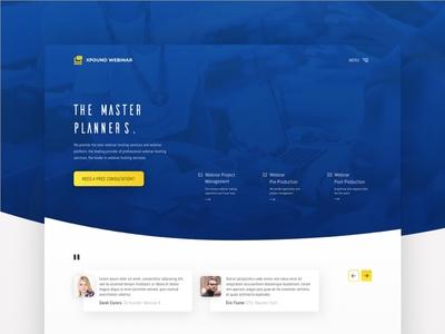 Landing Page Webinar