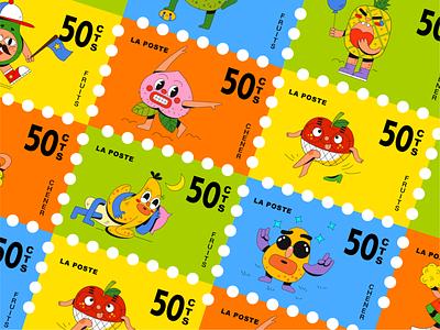 INTERESTING FRIENDS-9 sticker cute design illustration