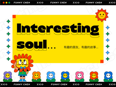 INTERESTING FRIENDS-14 hello sticker people cute dribbble art design illustration