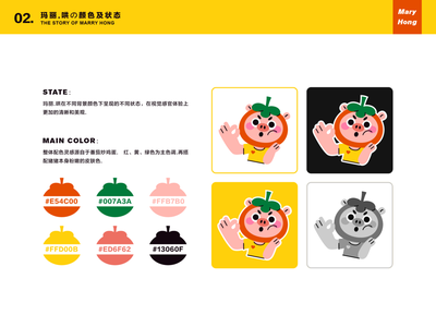 MARY HONG-13 sticker people art dribbble cute design illustration