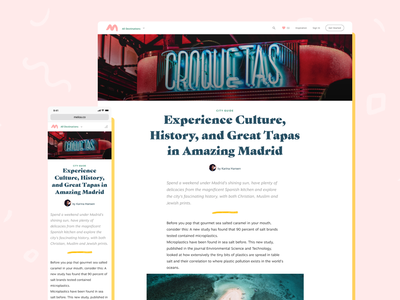 Meloa: A Closer Look at Your Destination branding website experience eat hotel travel