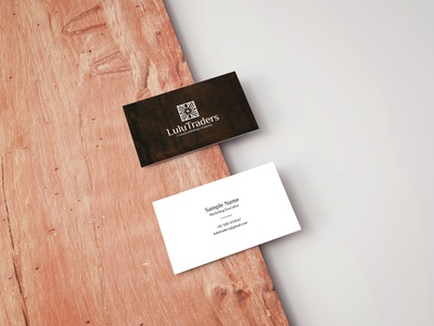 Business Card for Lulu.
