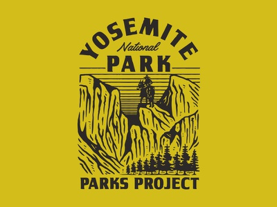 Design for Parks Project illust appareldesign direction branding artwork art vintage graphicdesign lettering design typography illustration