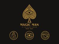 Design for Magic Man - Kevin Blake