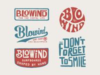 Design for Blowind Surfboards