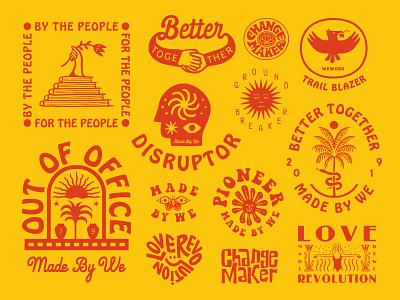 Design for Made by We vector appareldesign illust packaging direction artwork art vintage packagedesign graphicdesign logo typography lettering branding graphic design illustration