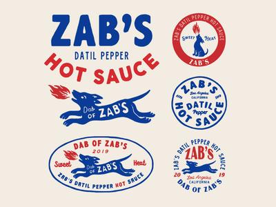 Design for Zabs vector illust type packaging direction artwork art vintage packagedesign graphicdesign logo typography lettering branding graphic design illustration