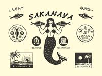 Design for Japanese Seafood Restaurant