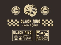 Design exploration for Black Ring Coffee, Long Beach, CA